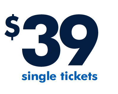 $39 for a single ticket