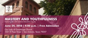 June 24 Outreach Concert @ Our Lady of Guadalupe Church