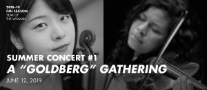 "Summer Concert #1—A ""Goldberg"" Gathering @ Carlos Alvarez Studio Theater – Tobin Center for the Performing Arts"
