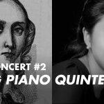 Summer Concert #2 Unsung Piano Quintets