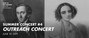 Summer Concert #4—Outreach Concert @ St. Mary's University Treadaway Recital Hall
