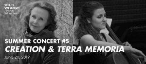 Summer Concert #5—Creation & Terra Memoria